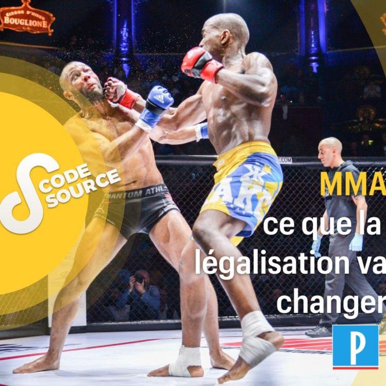 cover art for MMA, ce que la légalisation va changer