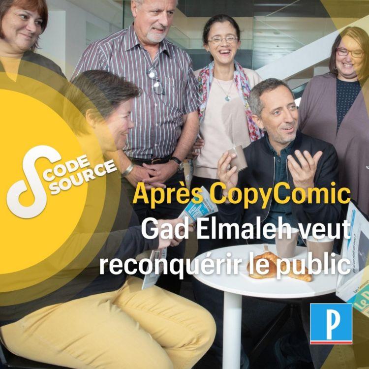 cover art for Après CopyComic, Gad Elmaleh veut reconquérir le public