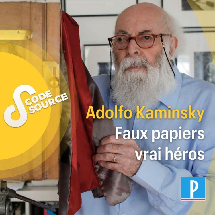 cover art for Adolfo Kaminsky : faux papiers, vrai héros