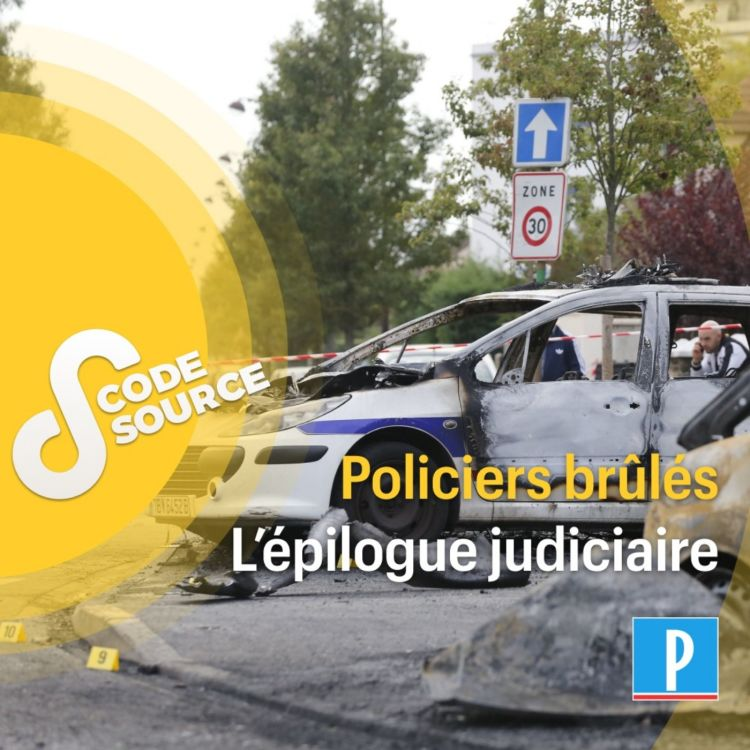 cover art for Policiers attaqués à Viry-Châtillon : du guet-apens au procès, récit d'une affaire hors norme