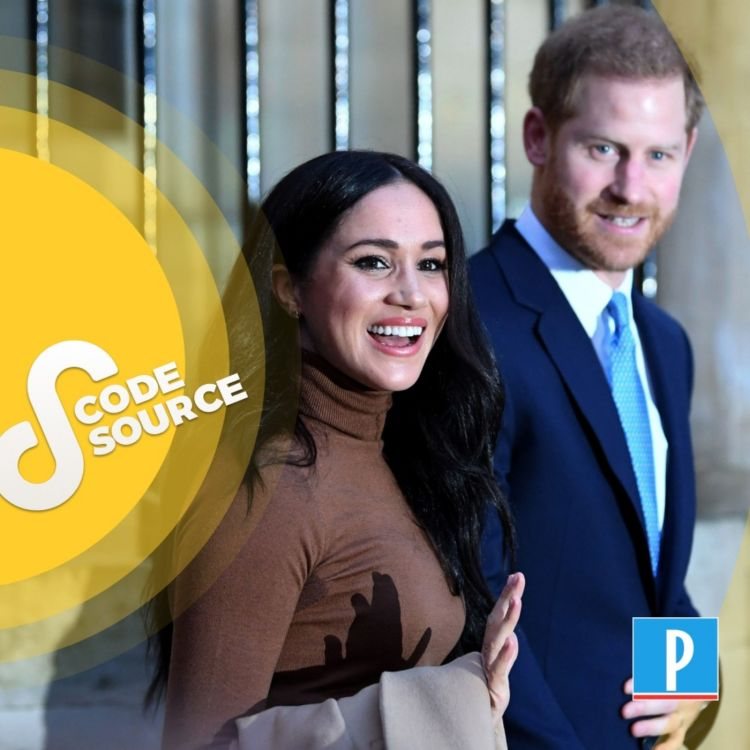 cover art for Le prince Harry et Meghan Markle : de la love story à la tempête royale (Partie 1)