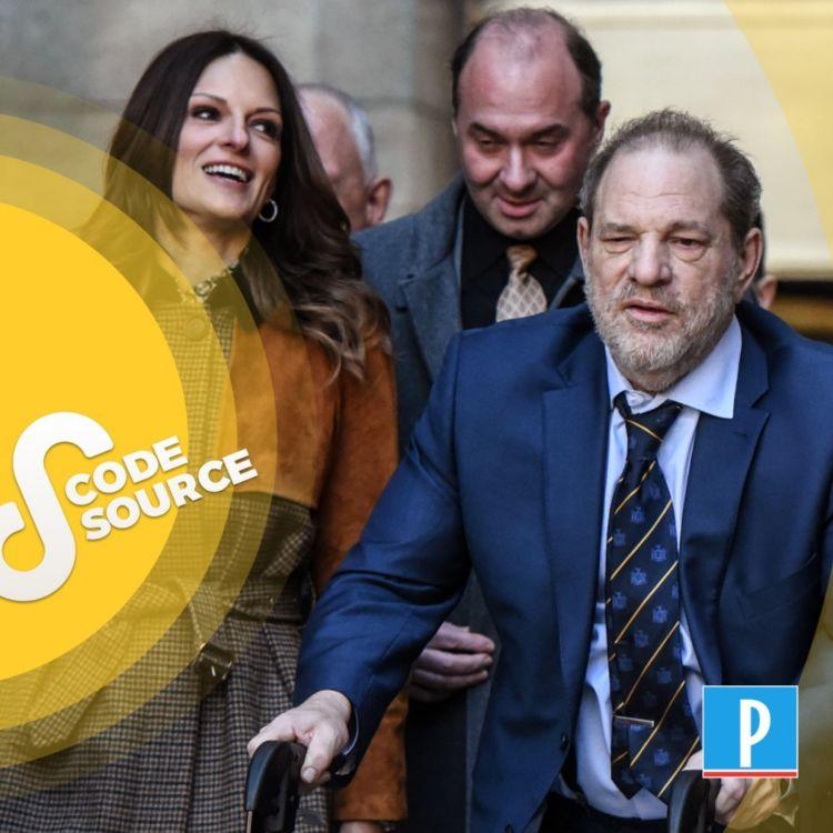cover art for Après l'onde de choc, le temps de la justice : récit du procès Weinstein