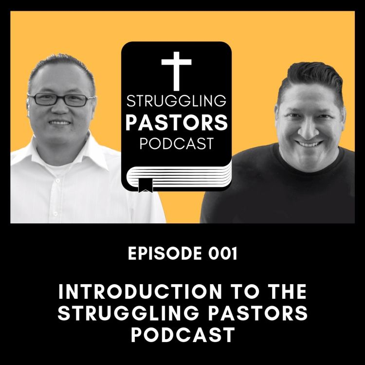 cover art for Intro to the Struggling Pastors Podcast