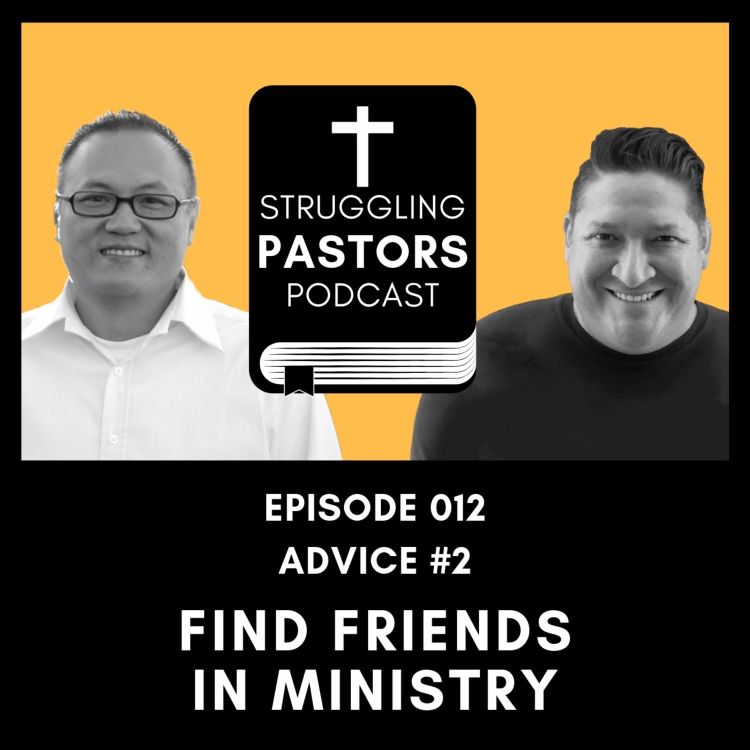cover art for Find friends in ministry.