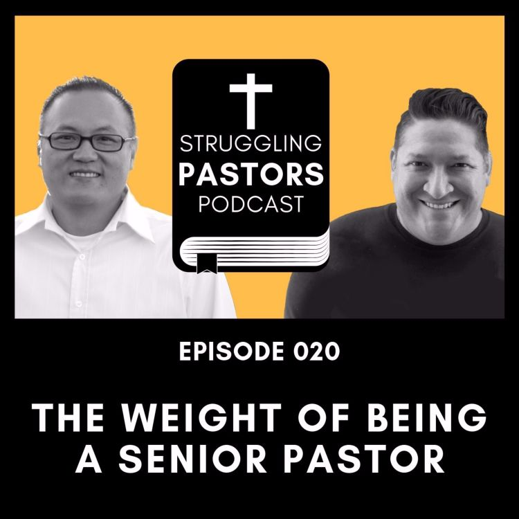 cover art for The Weight of Becoming a Senior Pastor