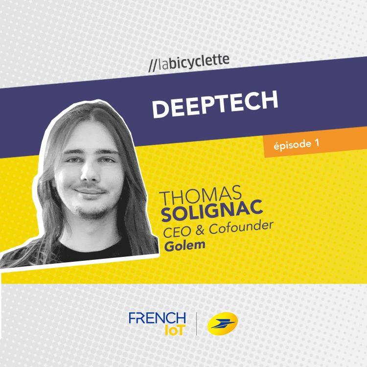 cover art for Thomas Solignac, CEO & Cofounder, Golem.ai
