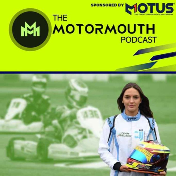 cover art for Ep 56 with Alyx Coby (Future female F1 driver?)