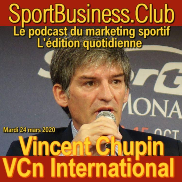 cover art for Vincent Chupin, VCn International