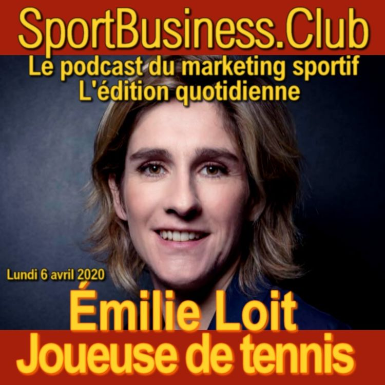 cover art for Emilie Loit, tenniswoman