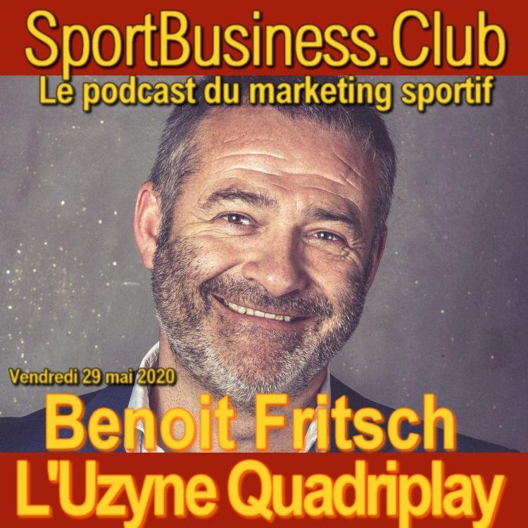 cover art for Benoit Fritsch, L'Uzyne Quadriplay