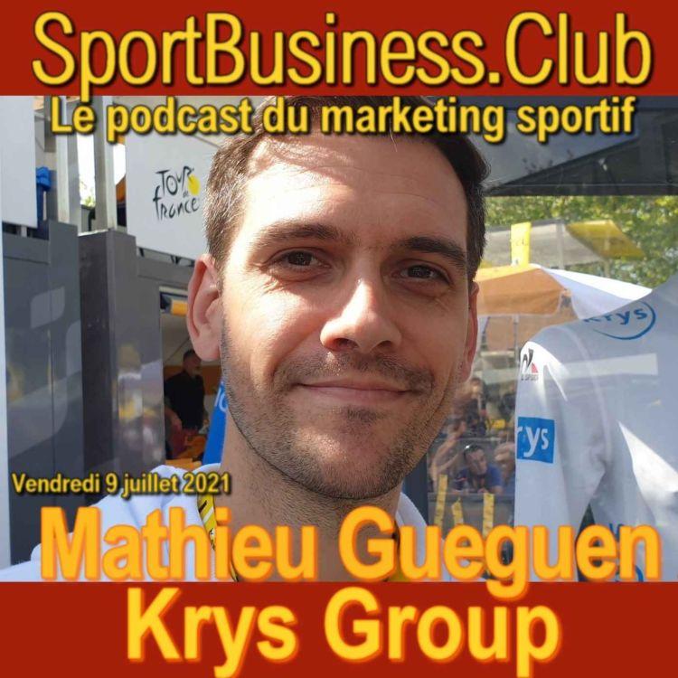 cover art for Mathieu Gueguen, Krys