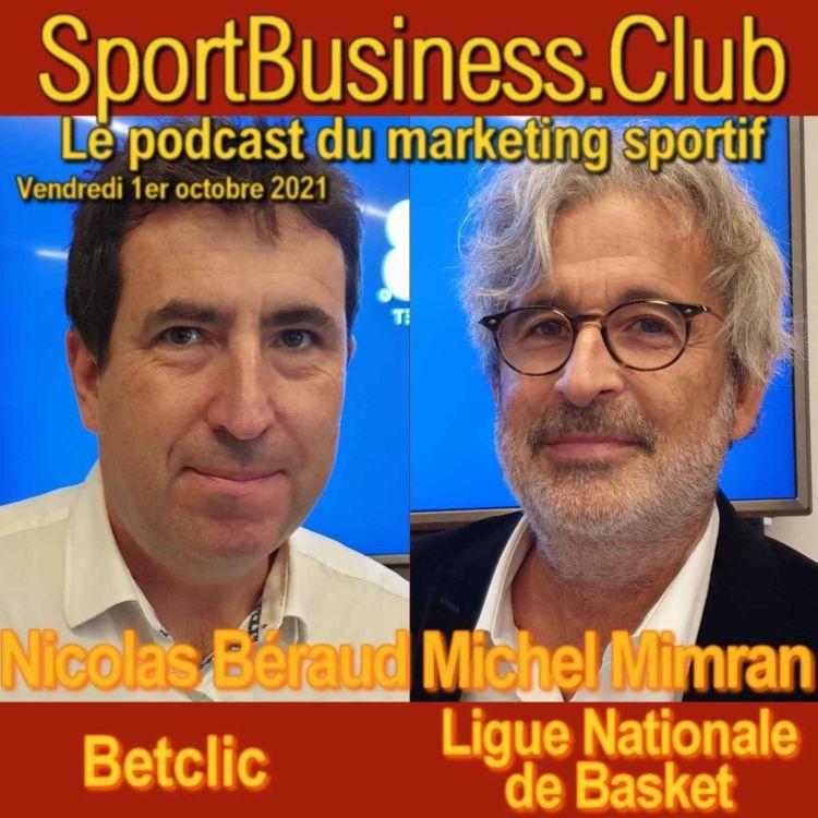 cover art for Betclic nouveau partenaire titre du basket français