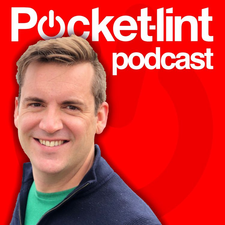 cover art for Galaxy Z Flip screen discoveries, HTC Vive interview, and Sennheiser's new headphones reviewed - Pocket-lint podcast ep. 41