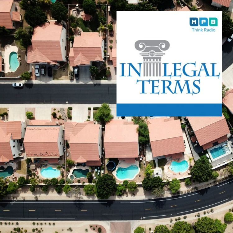 cover art for In Legal Terms: Home Owners' Associations