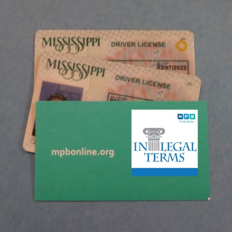 cover art for In Legal Terms: REAL IDs