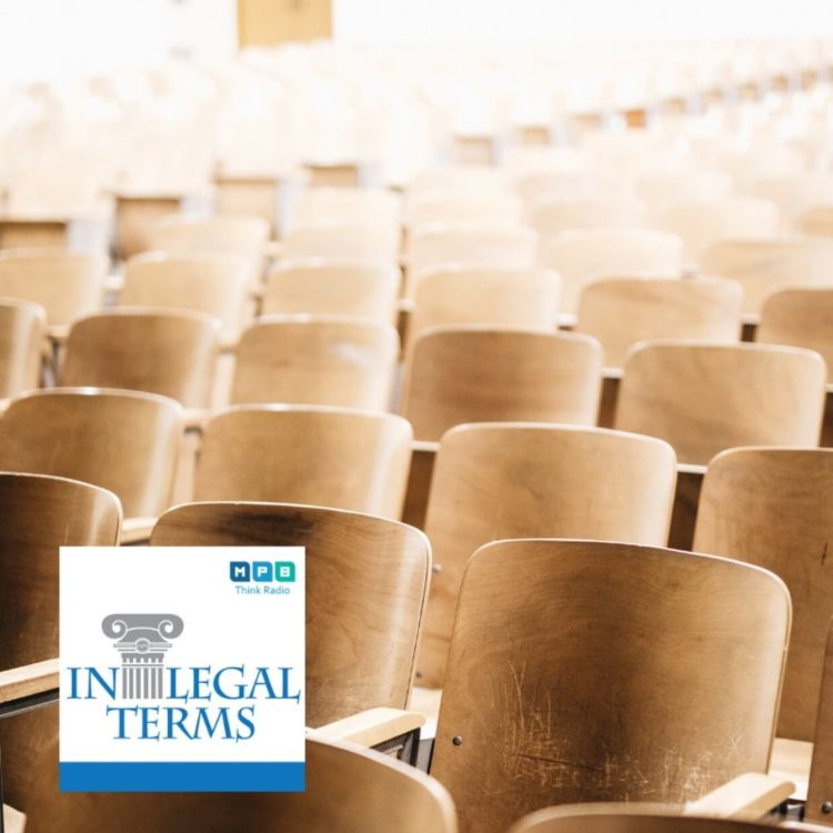 cover art for In Legal Terms: Law School