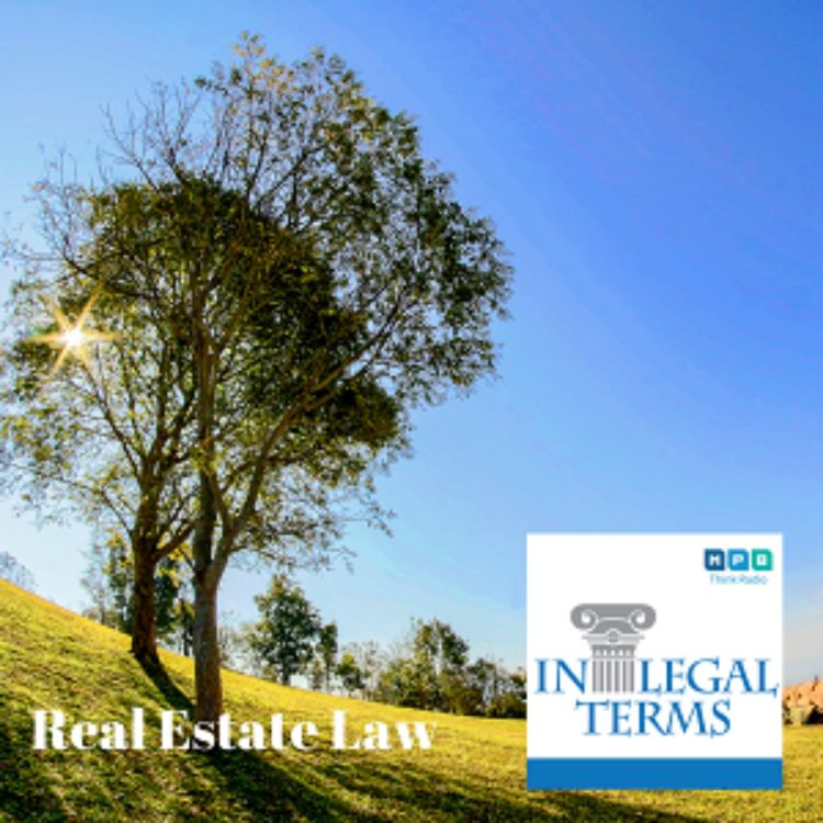cover art for In Legal Terms: Real Estate Law