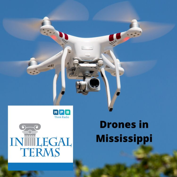 cover art for In Legal Terms: Drones