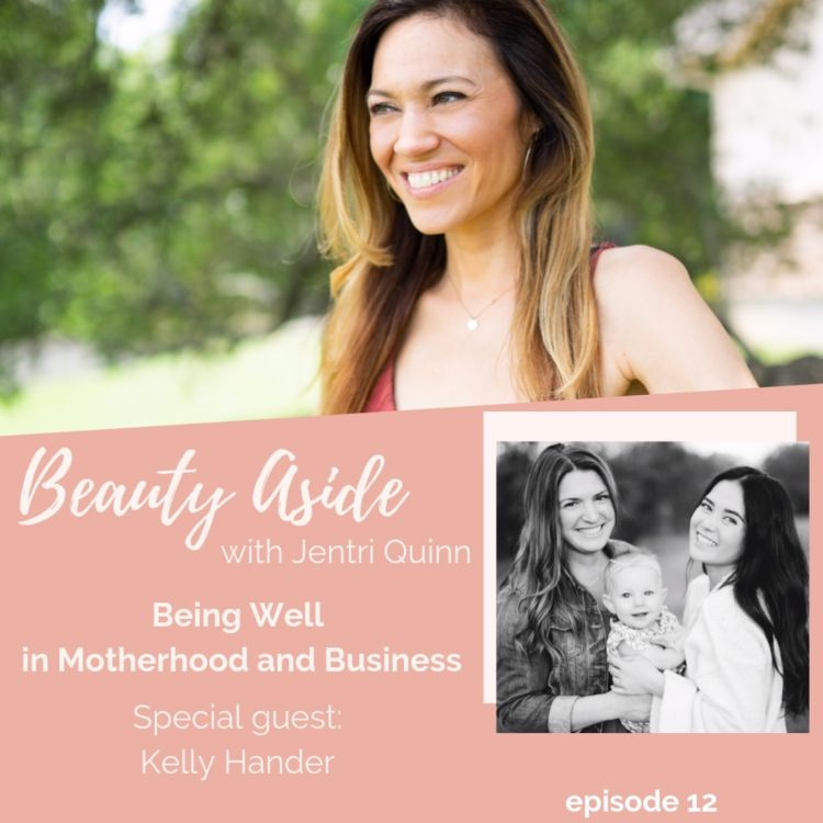cover art for How to Balance Motherhood and a Successful Dream Business with Kelly Hander