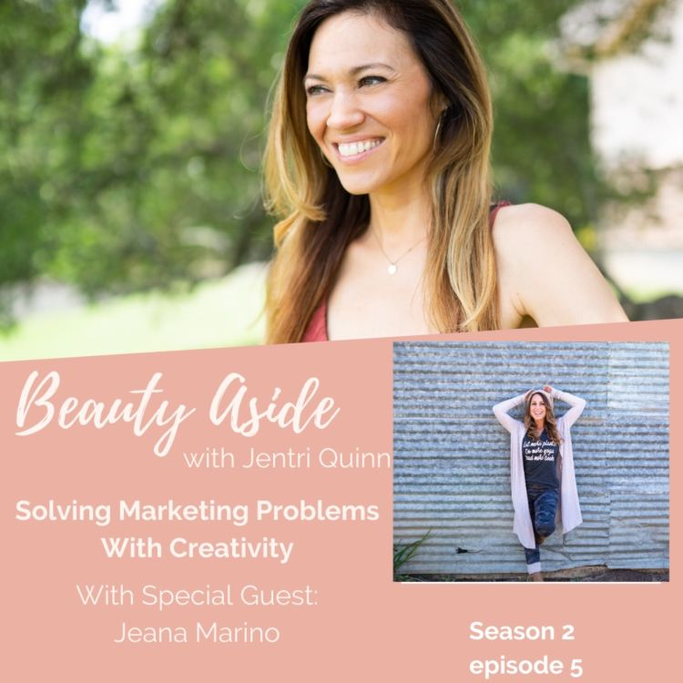 cover art for Solving Marketing Problems Using Creativity With Jeana Marino