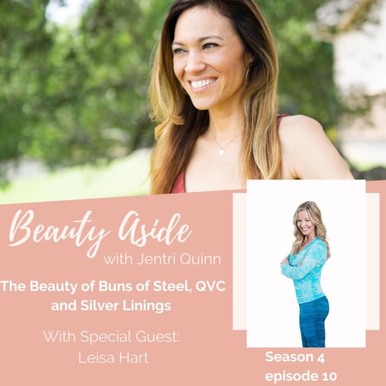 cover art for Buns of Steel, QVC and Silver Linings with Leisa Hart