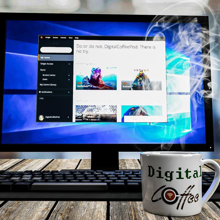 cover art for Battle of the Digital Distribution Sites: Origin