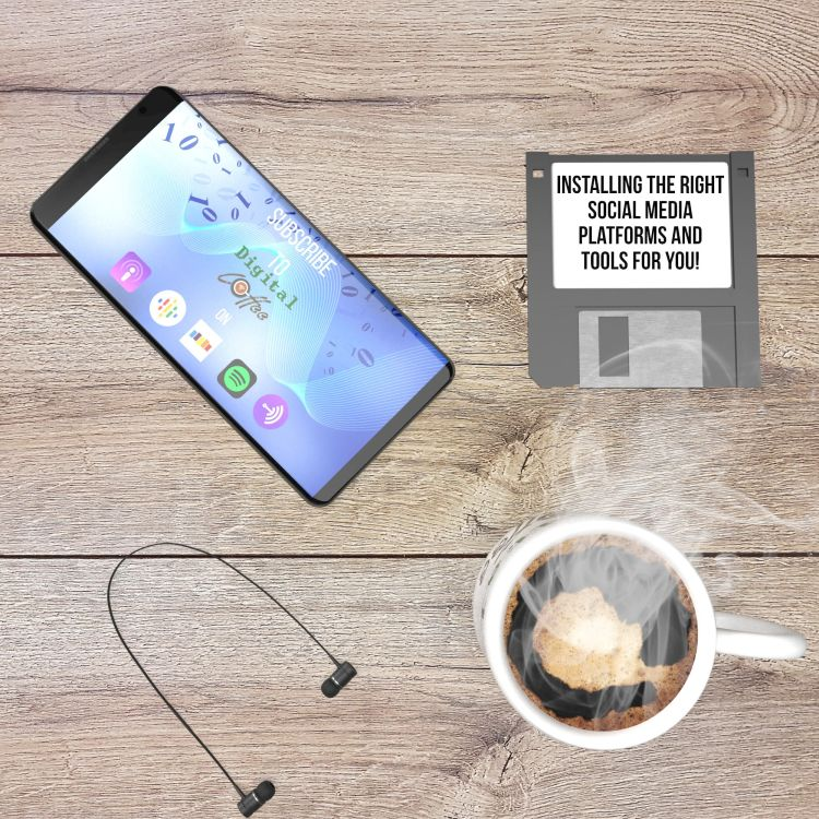 cover art for STARTING OR UPGRADING A PODCAST: CHOOSING THE RIGHT SOCIAL MEDIA PLATFORMS AND TOOLS