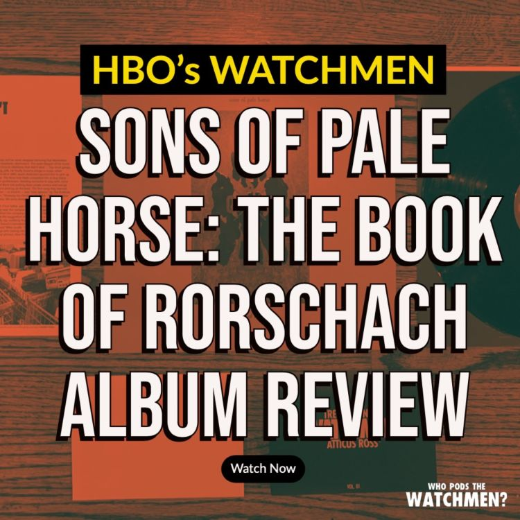 cover art for Sons of Pale Horse: The Book of Rorschach ALBUM REVIEW