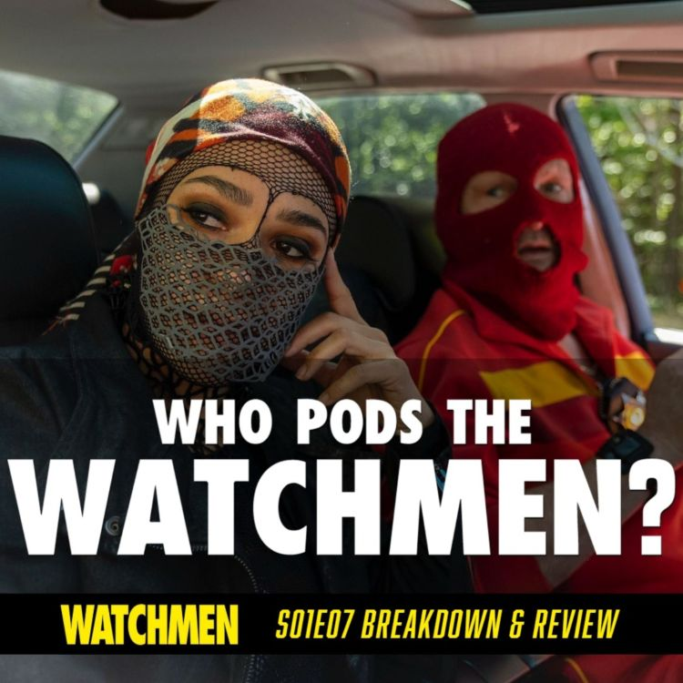 "cover art for Watchmen Episode 07 ""An Almost Religious Awe"" Breakdown & Review (S01E07)"