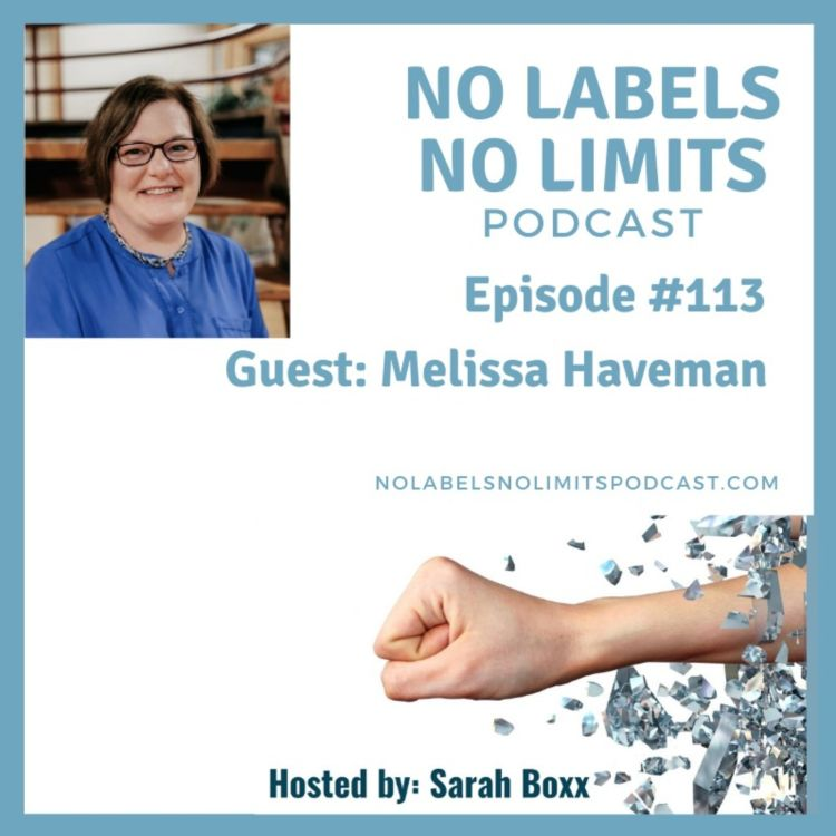 cover art for Episode 113 with Melissa Haveman - Delete Doubt and Fear!