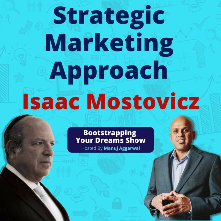 cover art for 154 | Strategic Marketing Approach | Assessing Your Customer Needs| Isaac Mostovicz