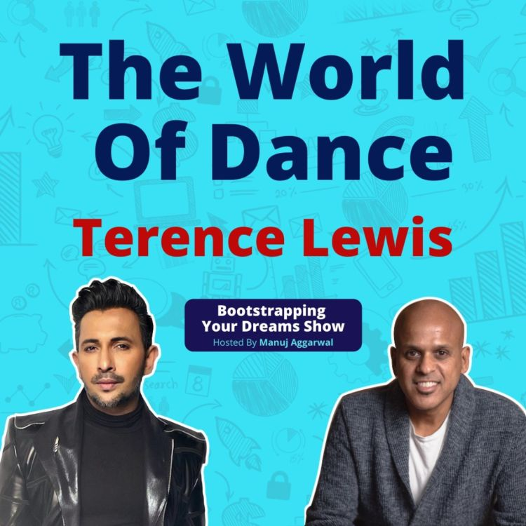 cover art for #186 The world of Dance |Terence Lewis