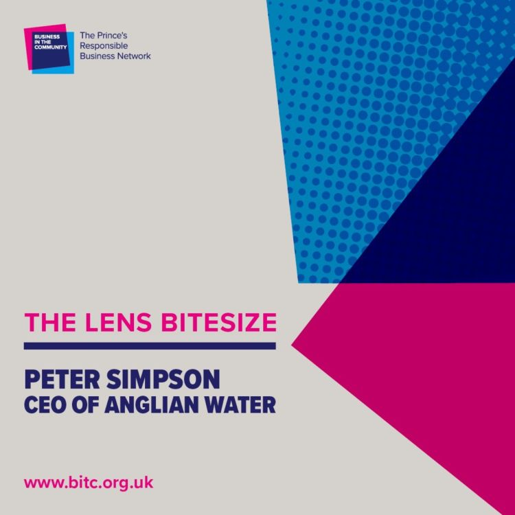 cover art for Bitesize: Peter Simpson CEO of Anglian Water