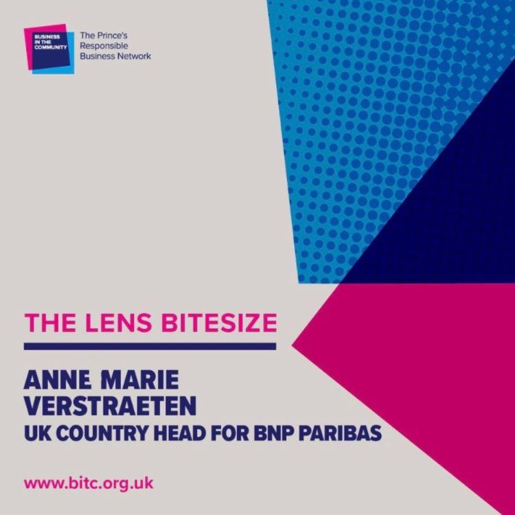 cover art for Bitesize: Anne Marie Verstraeten UK Country Head of BNP Paribas