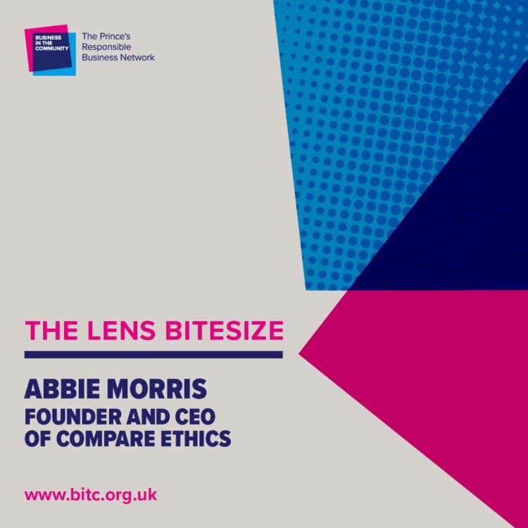 cover art for Bitesize: Abbie Morris CEO and Co-Founder of Compare Ethics