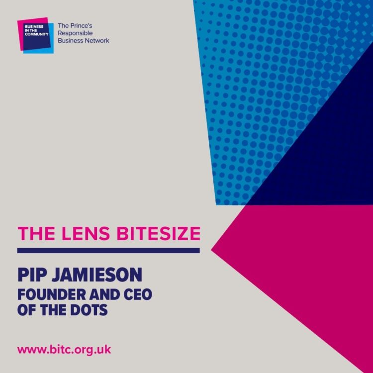 cover art for Bitesize: Pip Jamieson Founder and CEO of The Dots