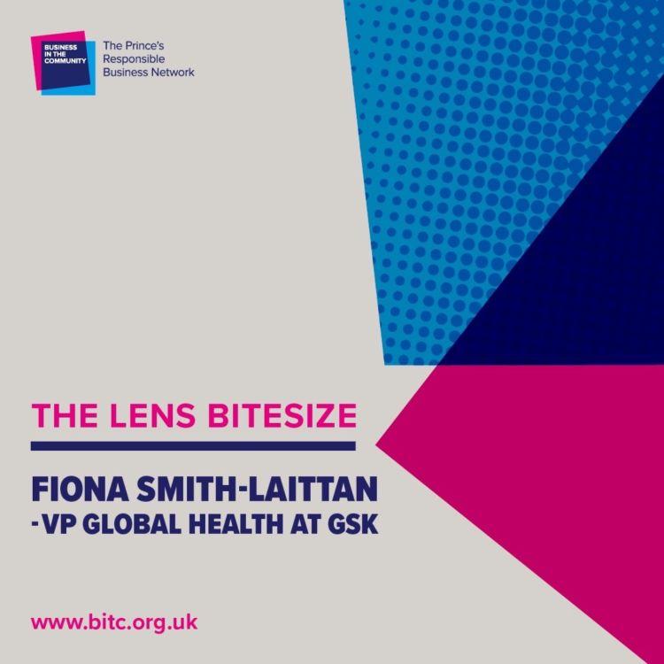 cover art for Bitesize: Fiona Smith-Laittan VP Global Health at GSK