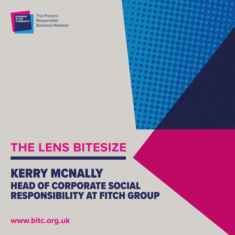 cover art for Kerry McNally, Head of Corporate Social Responsibility, Fitch Group