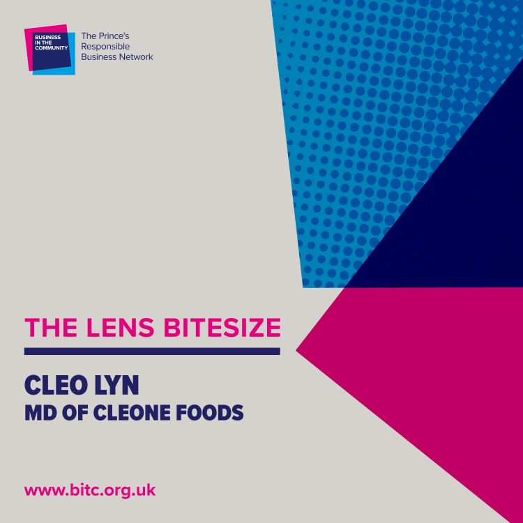 cover art for Bitesize: Cleo Lyn, Managing Director, Cleone Foods