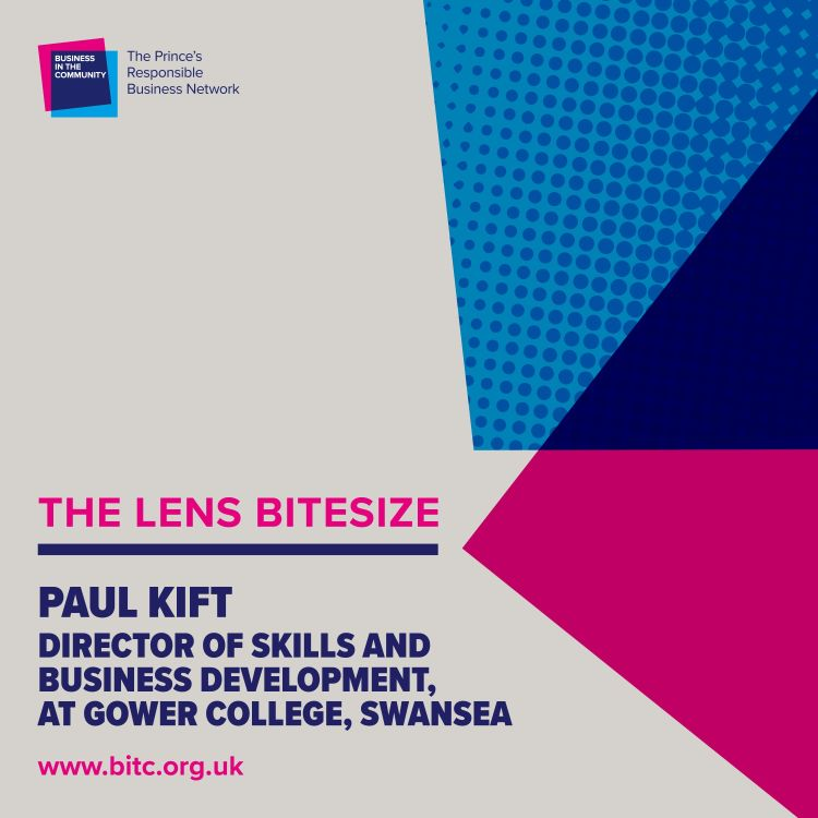 cover art for Bitesize: Paul Kift, Director of Skills & Business Development, Gower College Swansea