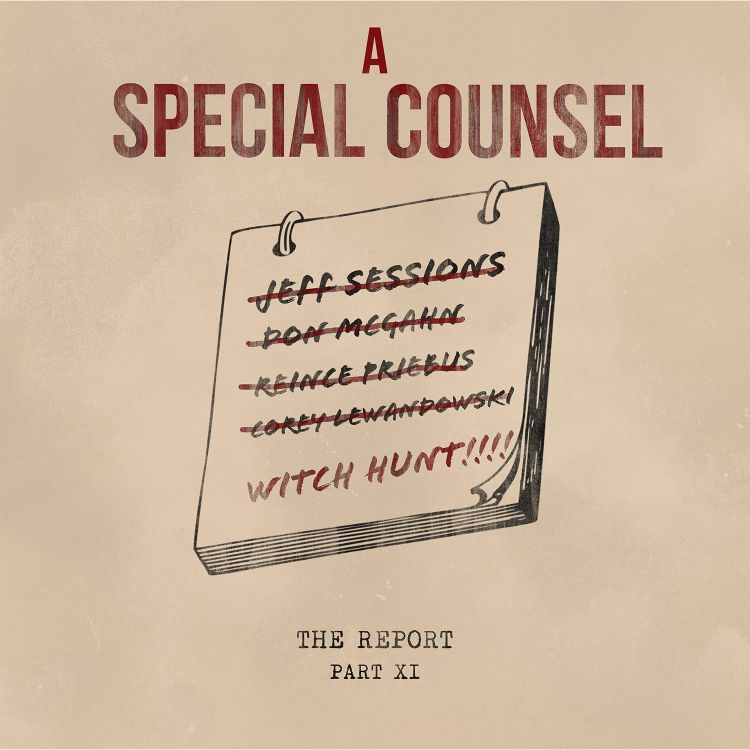cover art for Part XI: A Special Counsel