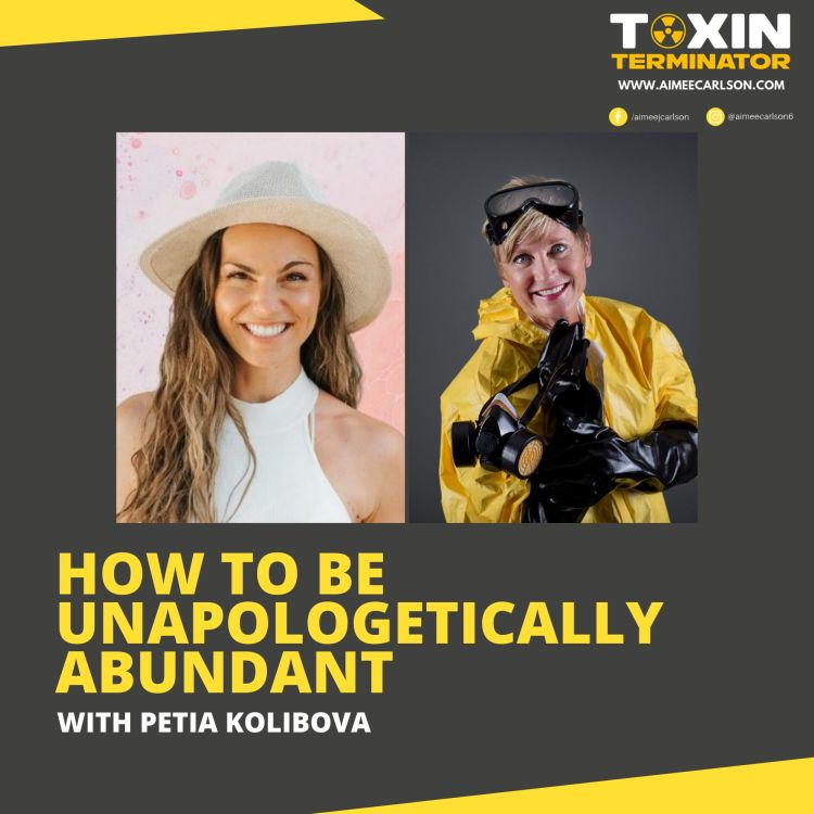 cover art for How to be Unapologetically Abundant with Petia Kolibova