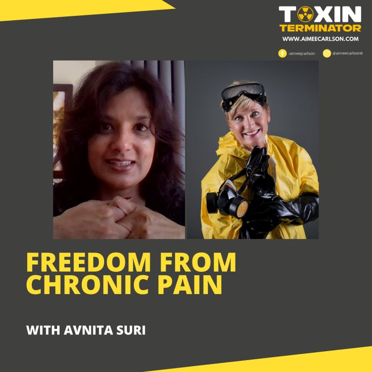 cover art for Freedom From Chronic Pain with Avnita Suri