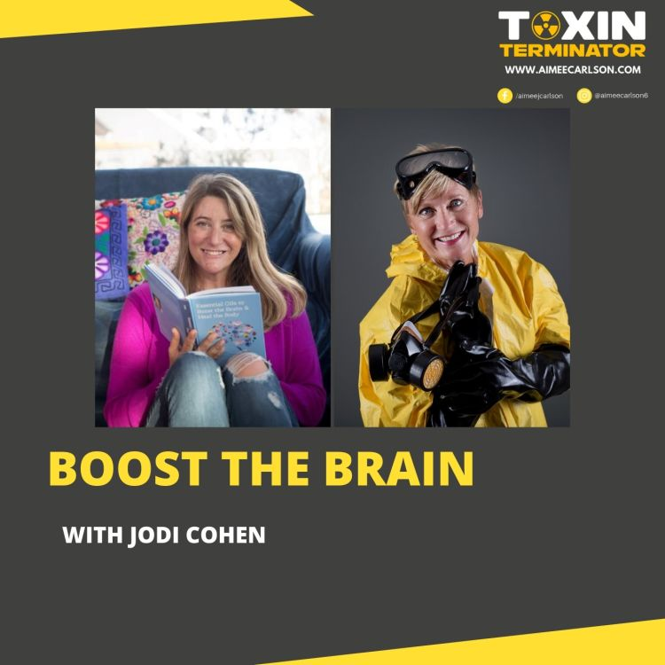 cover art for Boost the Brain with Jodi Cohen