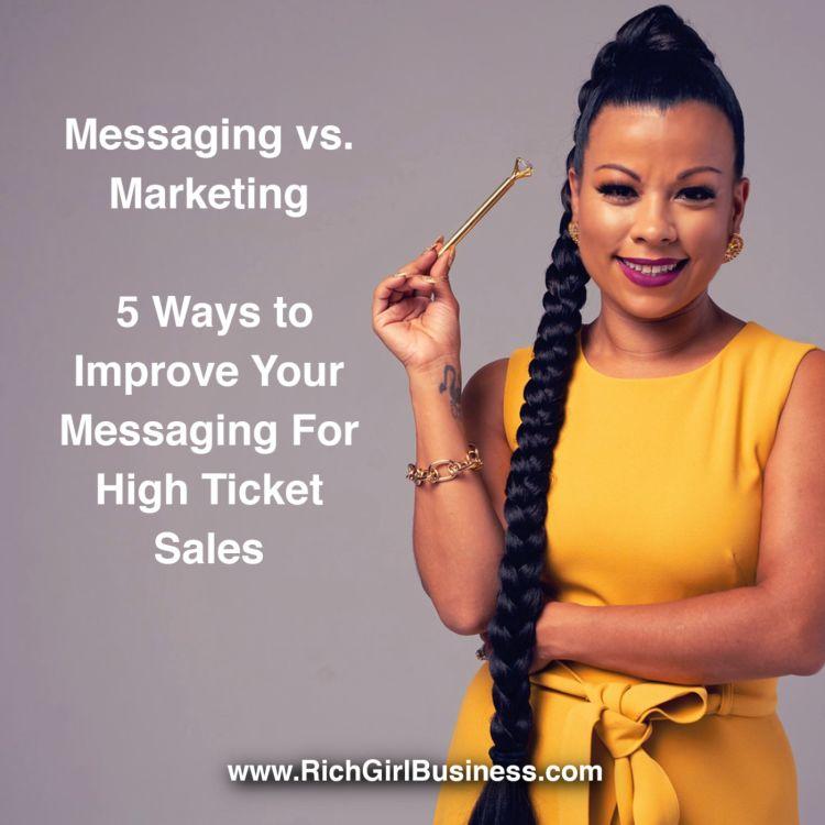 cover art for  Messaging vs Marketing