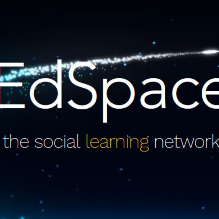 cover art for 57: EdSpace.Live w/ Michael J. Crawford