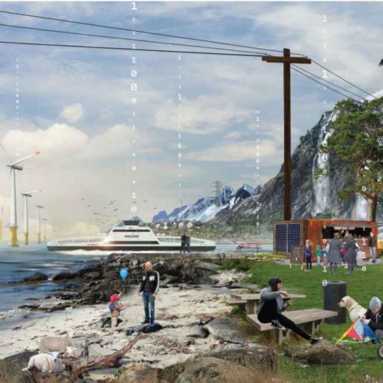 cover art for Når fergesektoren helelektrifiseres: Hvordan påvirker det deg, meg og strømnettet? (Annonsørinnhold - enerWE Partner)