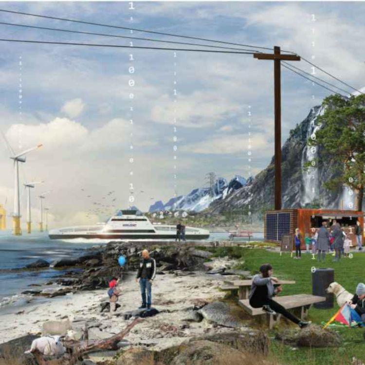 cover art for Storstilt elektrifisering av transportsektoren skaper mange nye arbeidsplasser (Annonsørinnhold - enerWE Partner)