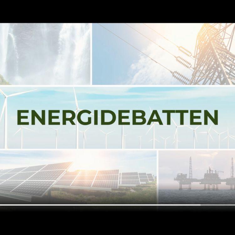 cover art for ENERGIDEBATTEN - 30 MINUTTER INN I FREMTIDEN MED FINN BJØRN RUYTER - KONSERNSJEF I HAFSLUND ECO
