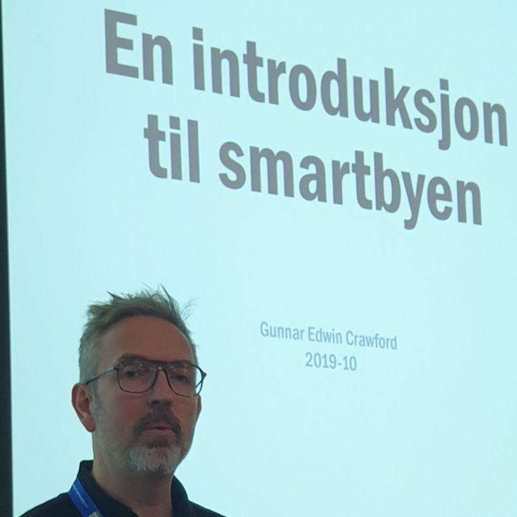 cover art for Gunnar Crawford, Smartbysjef Stavanger Smart City